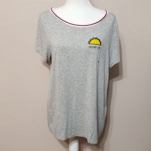 American Eagle taco bout love tee